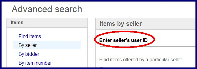 Can I Find A Seller By Using There Email Address The Ebay Community