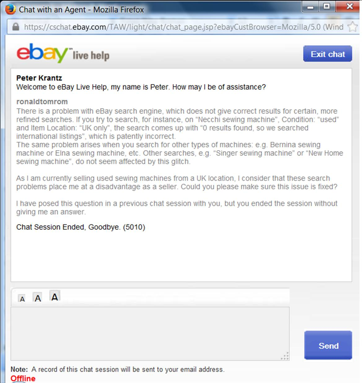 Ebay Co Uk Search: Ebay Search Engine Problems