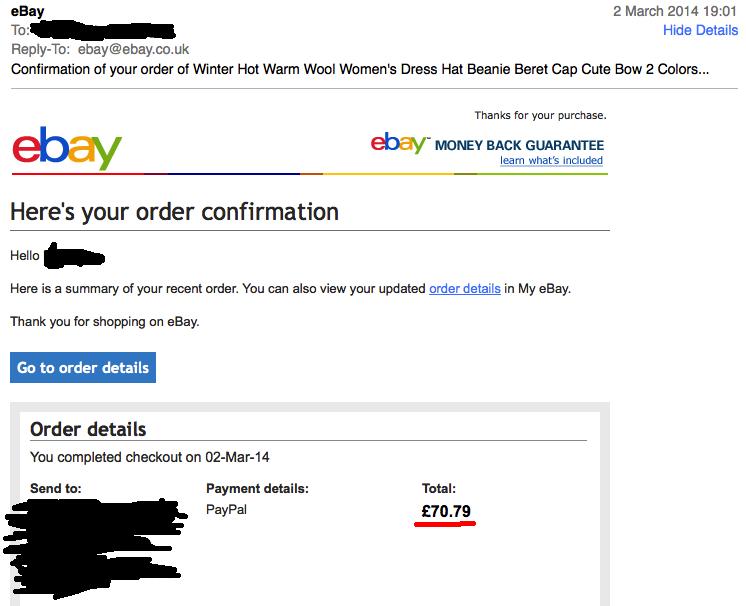 E Mail Ebay
