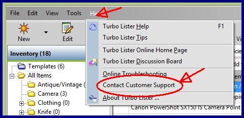 turbo lister vista